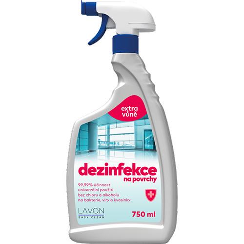 Lavon dezinfekce na povrchy bez chloru a alkoholu - 750 ml