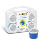 Prstové barvy na textil Primo - 6 x 100 g