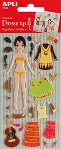 Oblékací panenka - Giselle