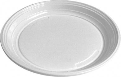 Talíře 22 cm - plastové ( 100 ks )