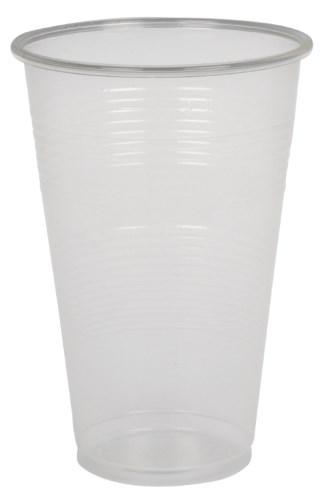 Kelímky 300 ml - plastové transparentní ( 100ks )