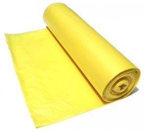 Pytle na odpad 120 l - žluté 75 mikronů ( 15 ks )