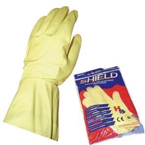 Úklidové gumové rukavice velikost L