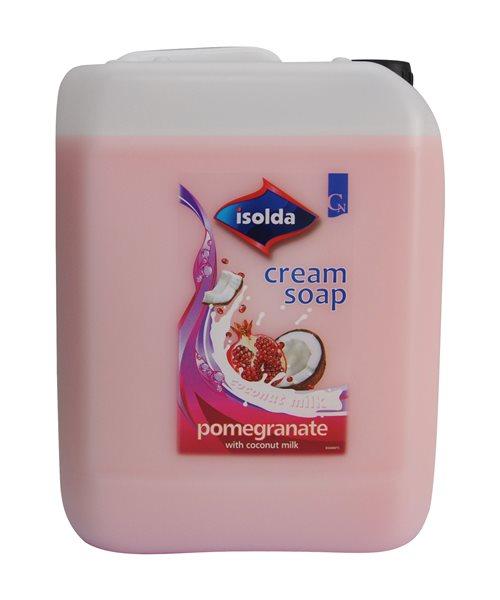 ISOLDA tekuté mýdlo 5l - granátové jablko s kokosovým mlékem