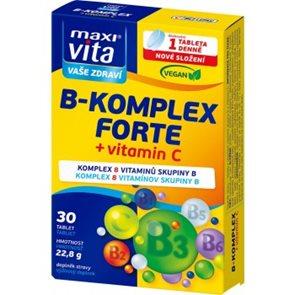 MaxiVita B-komplex forte + vitamin C