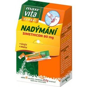 MaxiVita Herbal Nadýmání + anýz + máta