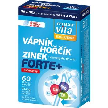 MaxiVita Exclusive Vápník–hořčík–zinek forte+