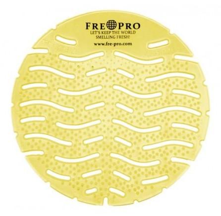 FrePro Wave vonné sítko do pisoáru - citrus (žlutá)