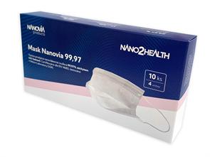 NANO rouška Nanovia Mask 99,97 - 10 ks