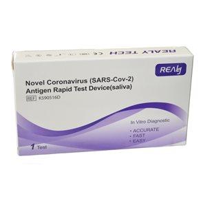 REALY TECH Antigen Rapid test ze slin - 1 ks