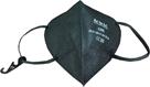 Respirátor FFP2 - 25 ks - barva černá