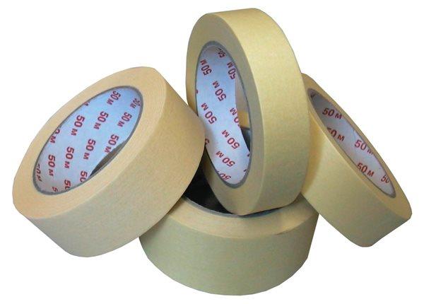 Lepicí páska krepová 50 mm × 50 m