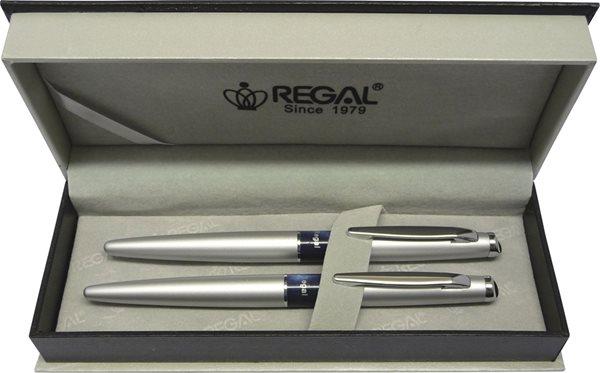 REGAL Psací souprava Mercurius kuličkové pero+plnící pero - stříbrná - značka REGAL