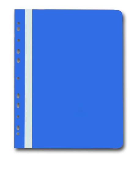 PP Rychlovazač plastový A4 s euroděrováním 1 ks - modrý
