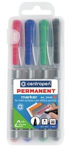 Centropen Popisovač 2846 Permanentní - sada 4 barev