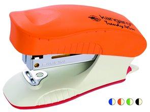 Kangaro sešívačka 24/6 Trendy 45M - oranžová