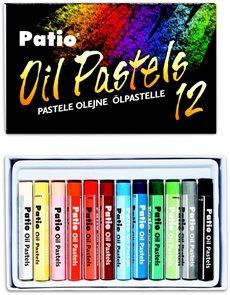 Patio Pastely olejové 12 barev