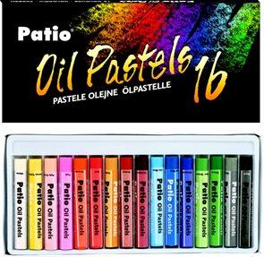 Patio Pastely olejové 16 barev