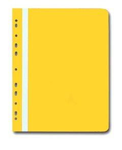 PP Rychlovazač plastový A4 s euroděrováním 1 ks - žlutý