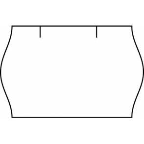 Etikety do etiketovacích kleští Contact 25×16 mm - bílé