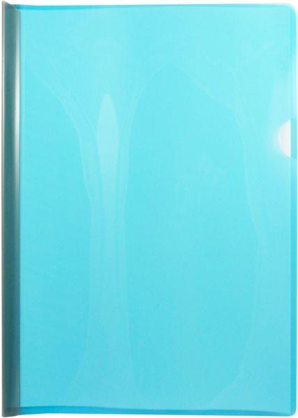 Desky s vázací lištou na 30 listů A4 - modré