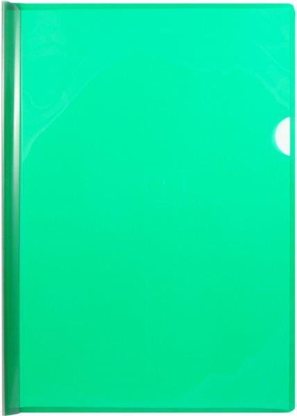 Desky s vázací lištou na 30 listů A4 - zelené