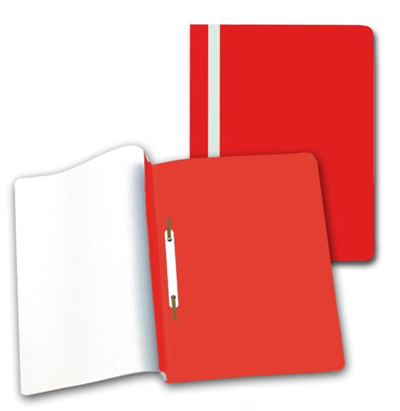 PP Rychlovazač plastový A4 1 ks - červený