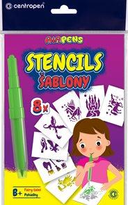 Centropen Šablony 9996 pro foukací fixy set B+