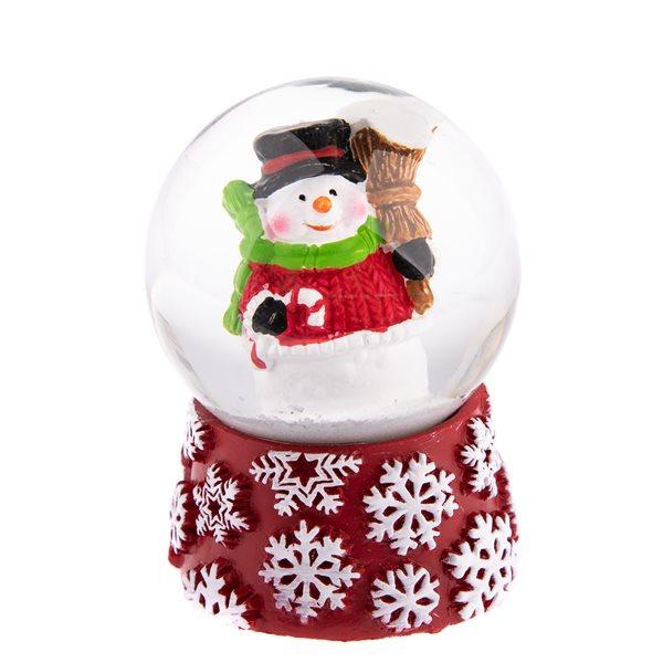 Vánoční sněžítko Sněhulák