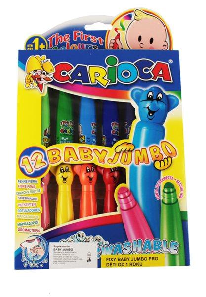Carioca Popisovač Baby Jumbo - 12 barev