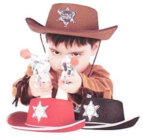 Klobouk Šerif (dětský), plsť