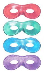 Maska Fiesta lesklá - mix barev