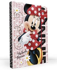 Karton PP Desky na sešity s boxem A5 - Minnie vzor 2012