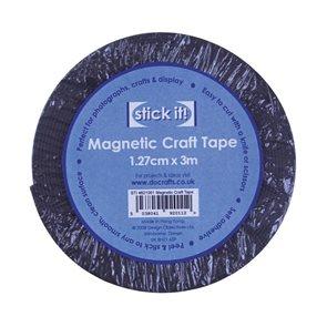 Stick it! Magnetická páska samolepící 1,27cm x 3m