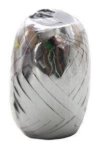 Stuha vázací metal 20m - stříbrná