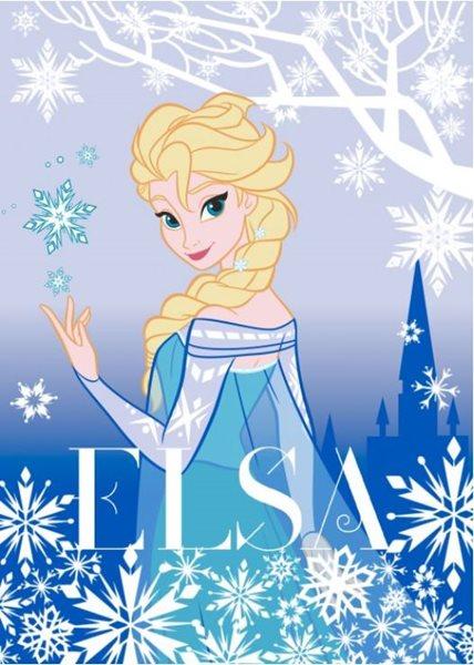 Dětský koberec Ledové království - Elsa