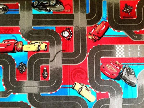 Dětský koberec Cars 3 - 95 x 200 cm