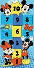 Dětský koberec Skákací panák Mickey & Minnie 80 x 160 cm