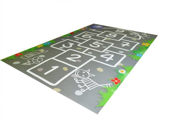 Dětský koberec Skákací panák 100 x 150 cm, Sleva 13%