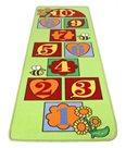 Dětský koberec Skákací panák zelený - 67 x 200 cm