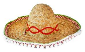 Klobouk Slamák Mexiko - dospělý