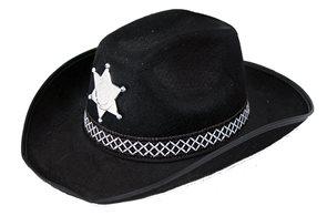 Klobouk kovbojský Sheriff dospělý