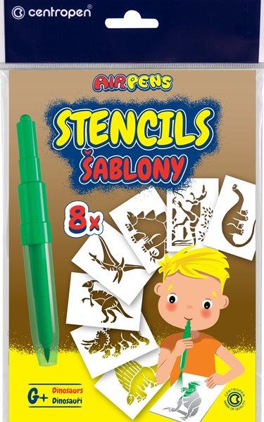 Centropen Šablony 9996 pro foukací fixy set G+