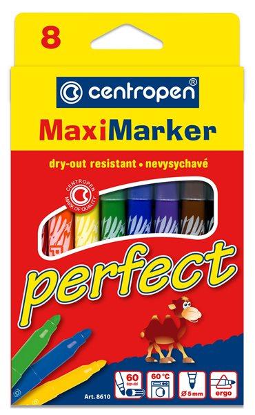 Centropen Popisovač 8610/8 Perfect sada 8 barev