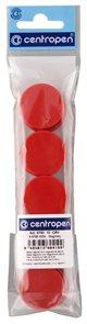 Centropen Magnety 9795 10 ks - červené