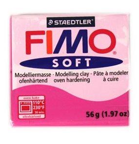 Modelovací hmota FIMO soft 57 g - 22 barva růžová (malinová)