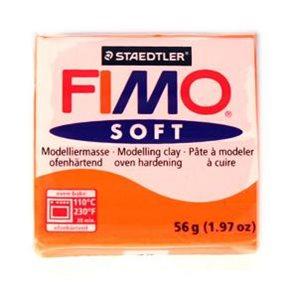 Modelovací hmota FIMO soft 57 g - 42 barva oranžová (mandarinka)