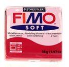 Modelovací hmota FIMO soft 56 g - 26 barva červená třešeň