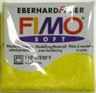 Modelovací hmota FIMO soft 56 g - 112 třpytivý efekt - zlatá