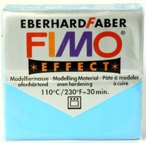 Modelovací hmota FIMO soft 56 g - 374 transparentní modrá